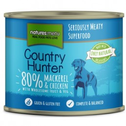 Natures Menu Country Hunter Sgombro e Pollo Cibo Umido per Cani