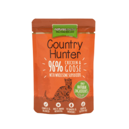 Natures Menu Country Hunter Pollo e Oca Cibo Umido per Gatti
