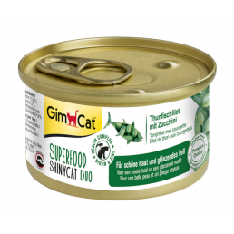 Gimcat Superfood ShinyCat Duo Cibo Umido per Gatti