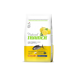 Natural Trainer Adult Mini con Tonno e Riso per Cani