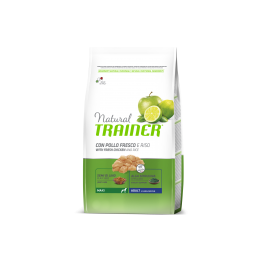 Natural Trainer Adult Maxi con Pollo Fresco, Riso e Aloe Vera per Cani