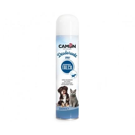 Deodorante spray al talco Amici e Felici per Cani e Gatti