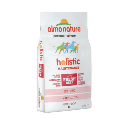 Almo Nature Holistic Medium Adult con Manzo e Riso per Cani