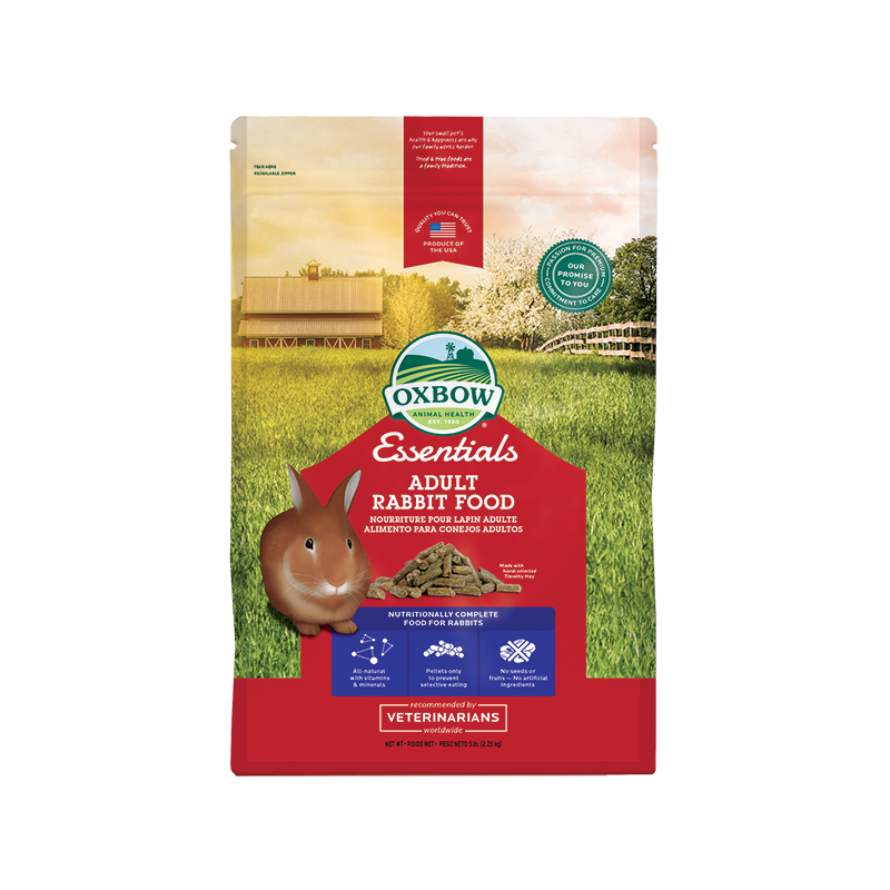 Oxbow - Oxbow Essential Adult Rabbit Food Confezione Da 2,27 Kg