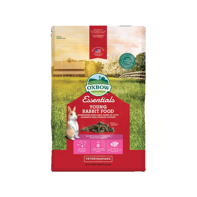 Oxbow - Oxbow Essential Young Rabbit Food Confezione Da 2,25 Kg
