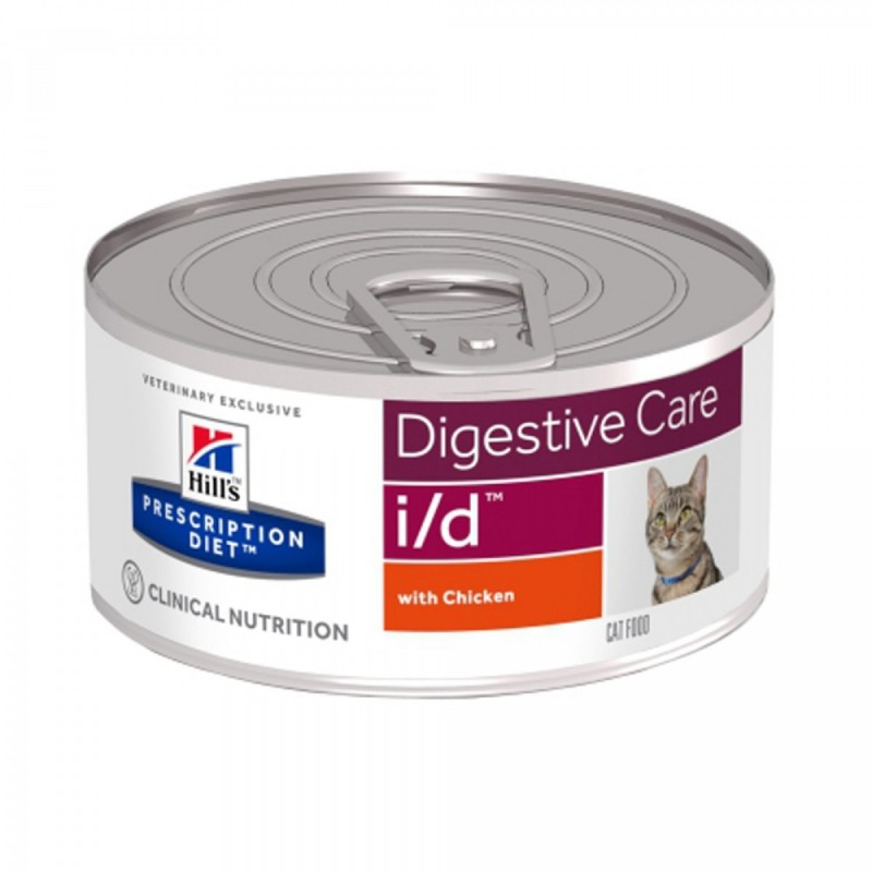 Hills Diet I/D lattina gatto