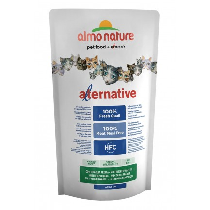 Almo Nature Alternative Cat con Quaglia Fresca