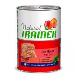 Natural Trainer Adult Medium con Manzo Umido per Cani di Taglia Media