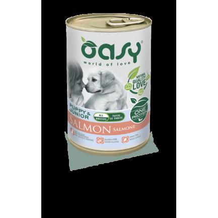 Oasy One Protein Puppy Cibo Umido per Cani Salmone