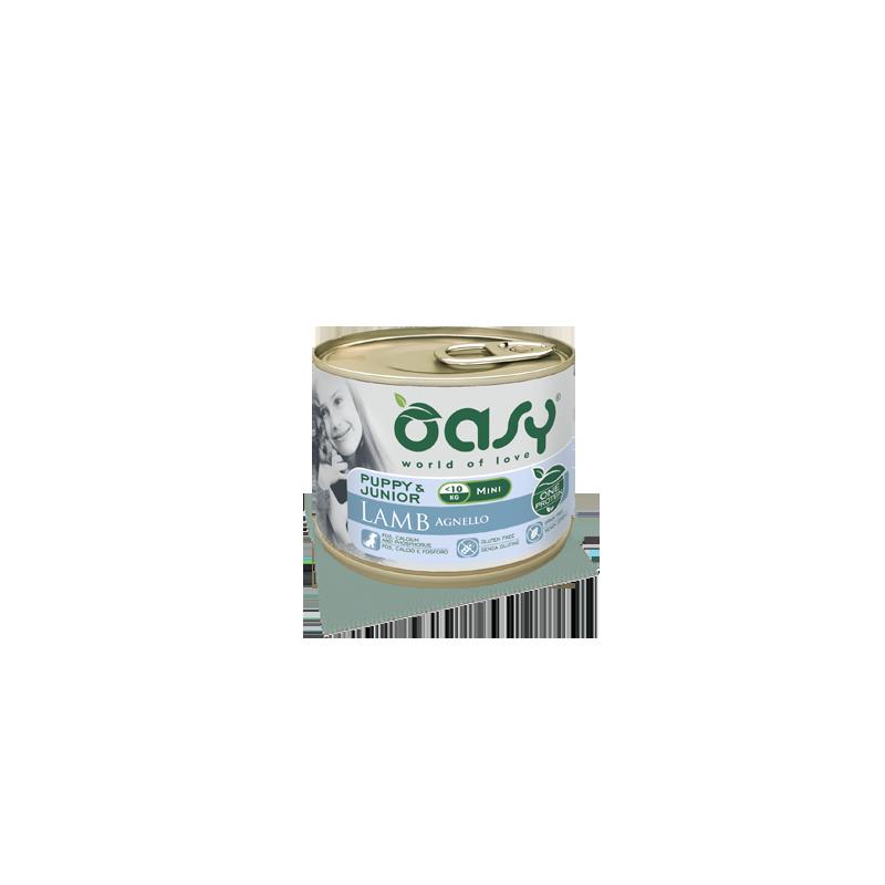 Oasy One Protein Puppy Mini Cibo Umido per Cani Agnello