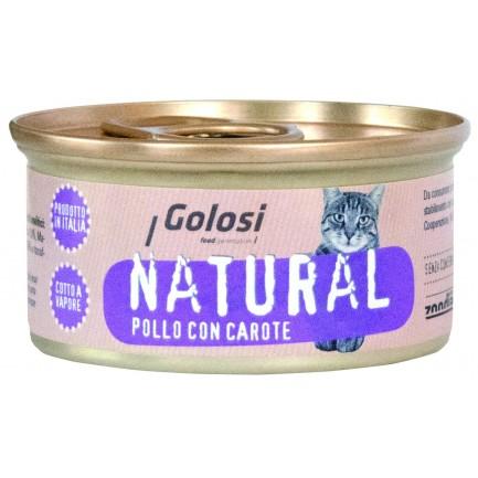 Golosi Natural Cibo Umido Per Gatti 100 Naturale Pacopetshop