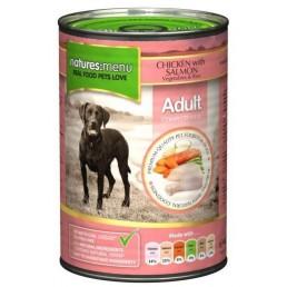 Nature's Menu Pollo e Salmone Cibo Umido per Cani