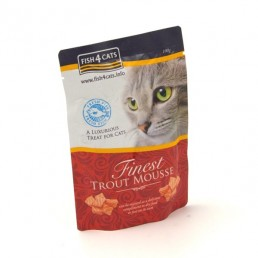 Fish4Cats Finest Mousse con Trota per Gatti