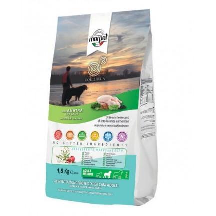 Equilibria Low Grain Solo Anatra per Cani