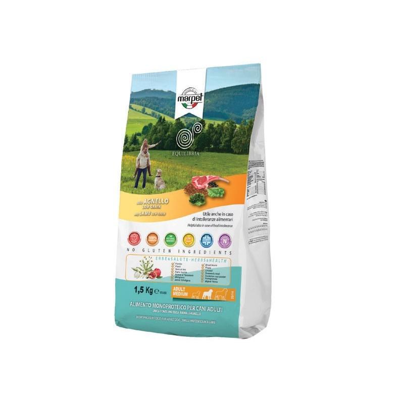 Equilibria Low Grain Solo Agnello per Cani