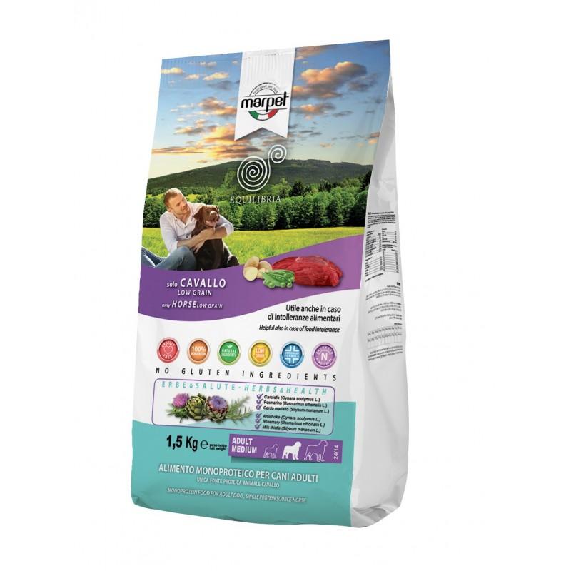 Equilibria Low Grain Solo Cavallo per Cani