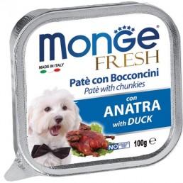 Monge Fresh Pate' con Bocconcini per Cani Maiale