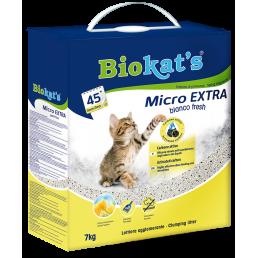 Biokat's Micro EXTRA Bianco Fresh Lettiera al Carbone Attivo