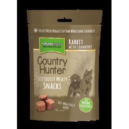 Nature's Menu Snacks Liofilizzati di Coniglio con Mirtilli Rossi per Cani