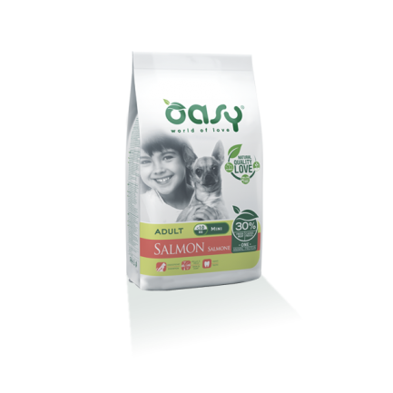 Oasy Adult Mini Salmone per Cani