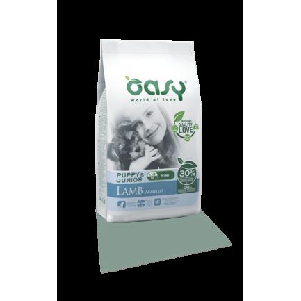 Oasy Puppy & Junior Mini Agnello  per Cani