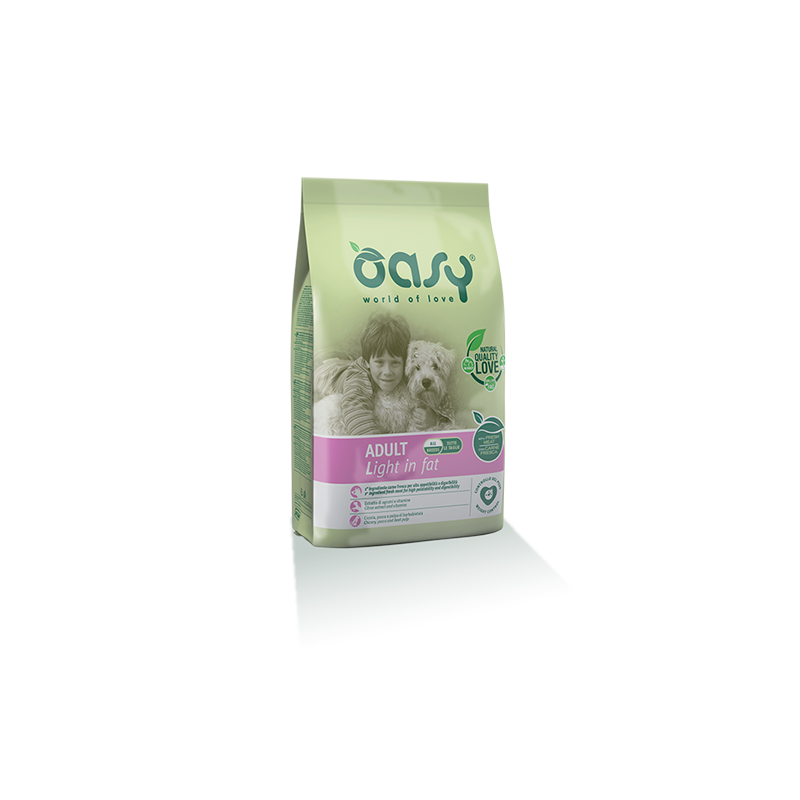 Oasy Adult Light in Fat per Cani