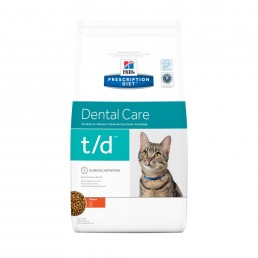 Hills Prescription Diet T/D Dental Health Feline Secco