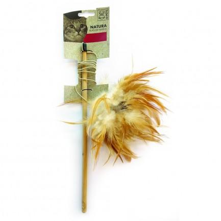 M-Pets Natura Feather Wand Gioco per Gatti