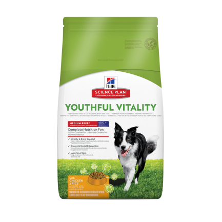Hill's Youthful Vitality Crocchette per Cane