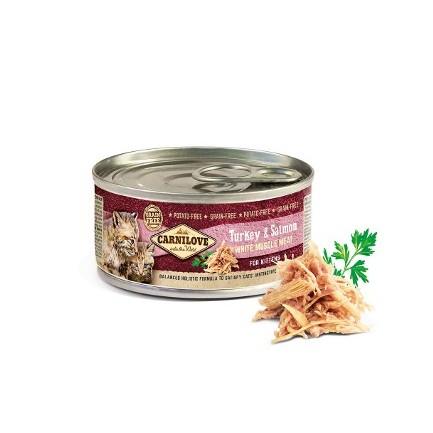 Carnilove Umido Tacchino e Salmone per Gattini