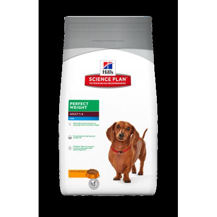 Hill's Perfect Weight Adult Mini per Cani di Taglia Piccola