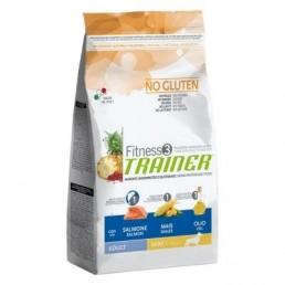 Fitness3 Trainer Adult Mini con Salmone-Mais per Cani