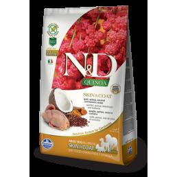 Farmina N&D Skin Coat con Quaglia e Quinoa per Cani