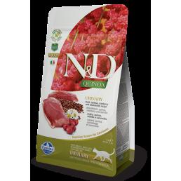 Farmina N&D Urinary Adult con Anatra e Quinoa per Gatti
