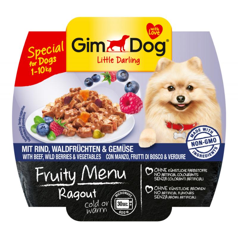 GimDog Fruity Menu Ragout per Cani