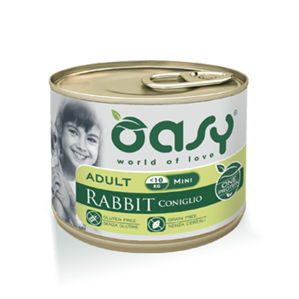 Oasy One Protein Mini Umido per Cani