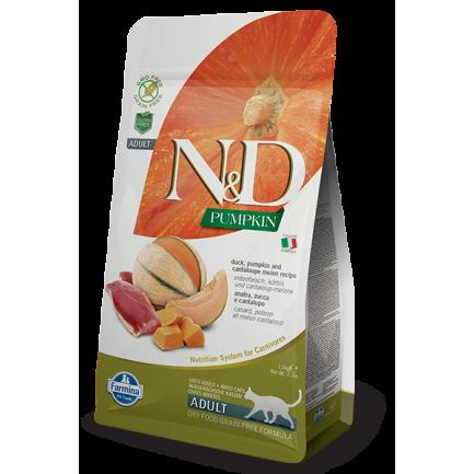Farmina N&D Pumpkin Anatra, Zucca e Melone per gatti