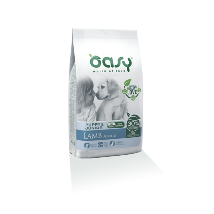 Oasy Puppy & Junior Agnello per Cani
