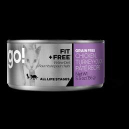 GO! FIT + FREE Ricetta Paté di Pollo, Tacchino + Anatra Grain Free