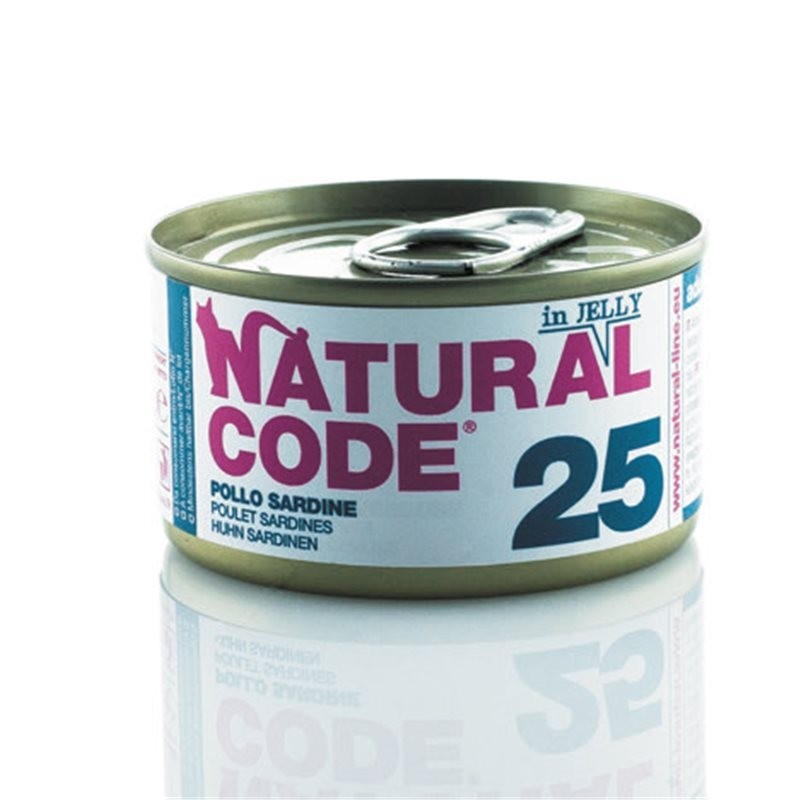 Natural Code Adult Cat Lattina in Jelly - 12 lattine da 85 gr