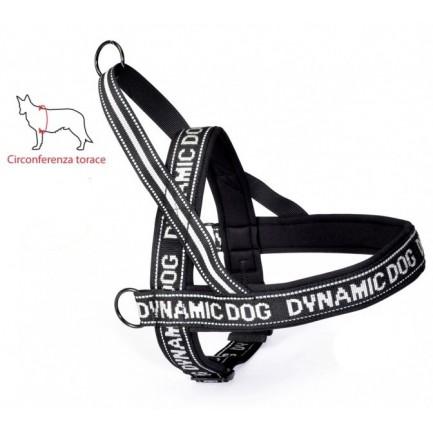 Dynamic Dog Pettorina per Cani Nero