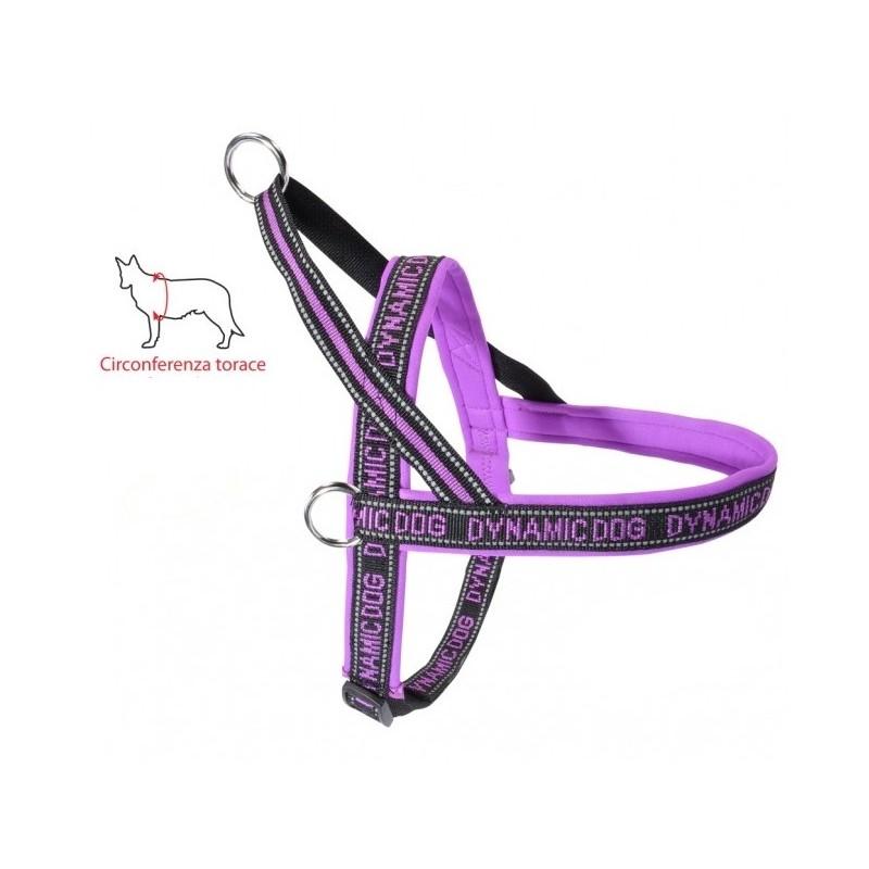 Dynamic Dog Pettorina per Cani Lilla