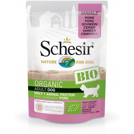 Schesir Dog BIO Organic con Maiale Cibo Umido per Cani