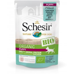 Schesir Dog BIO Organic Puppy con Pollo Cibo Umido per Cuccioli