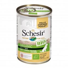 Schesir Dog BIO Organic con Pollo Umido in Lattina per Cani