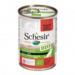 Schesir Dog BIO Organic con Manzo Umido in Lattina per Cani