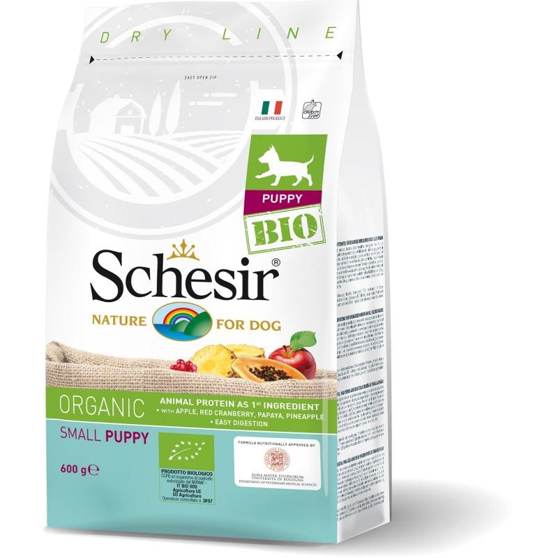Schesir Dog BIO Organic Small Puppy per Cuccioli di Taglia Piccola