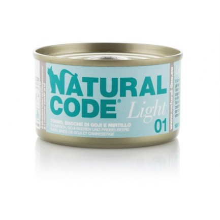 Natural Code Light Umido per Gatti