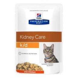 Hills Diet K/D bustina gatto