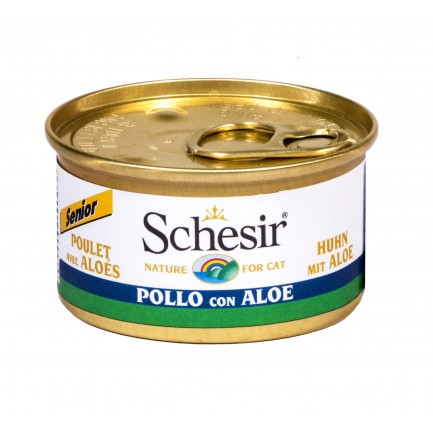 Schesir Cat Senior - 7 lattine da 85 gr